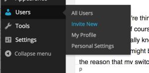Add New WordPress Users