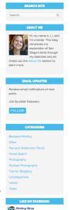 WordPress Sidebar Widgets